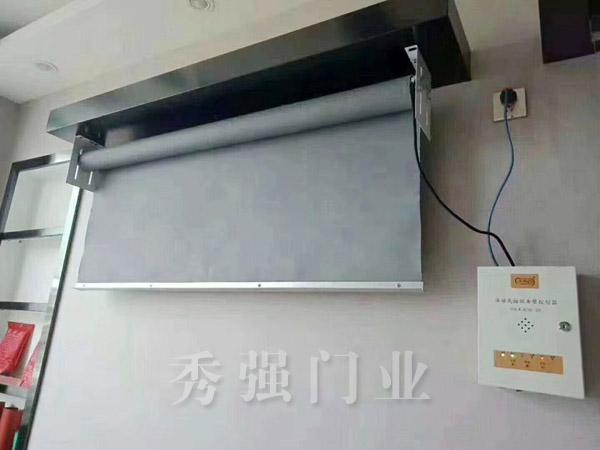 活动式柔性挡烟垂壁